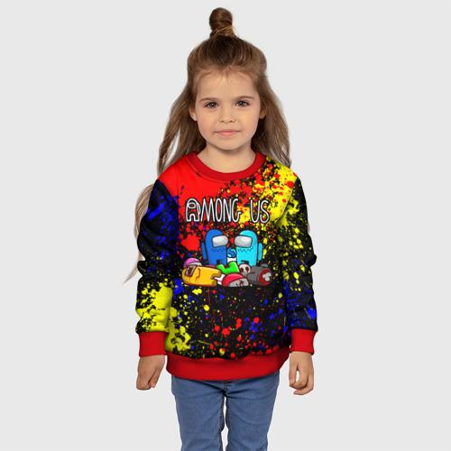 Детский свитшот 3D AMONG US Фото 01