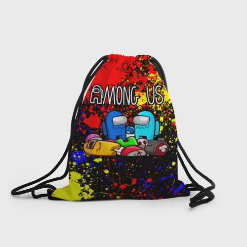 Рюкзак-мешок 3D AMONG US Фото 01