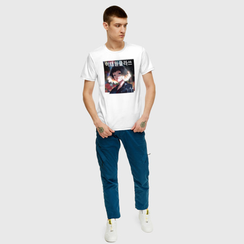 Мужская футболка хлопок Итэвон класс Фото 01