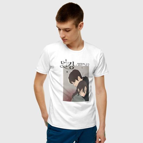 Мужская футболка хлопок the king Фото 01