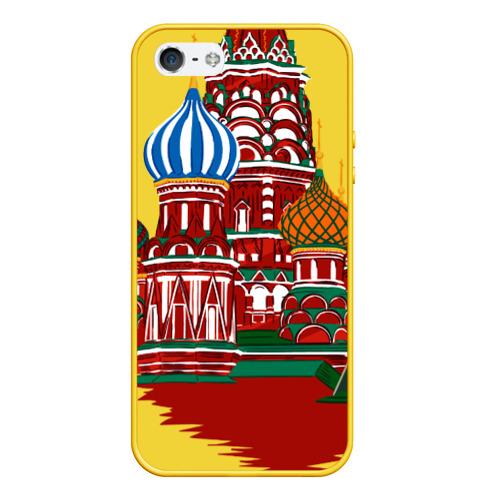 Чехол для iPhone 5/5S матовый Кремль Фото 01