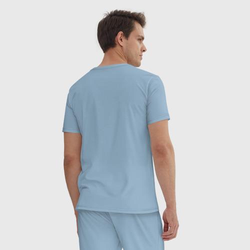 Мужская пижама хлопок Сент-Луис Блюз Фото 01