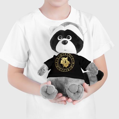 Игрушка Енотик в футболке 3D Близнецы Фото 01