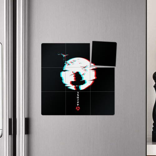 Магнитный плакат 3Х3 Итачи Учиха Наруто Фото 01