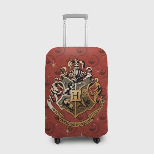 Чехол для чемодана 3D Hogwarts Фото 01