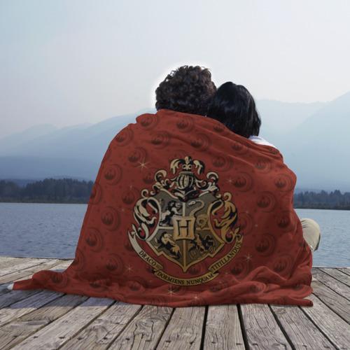 Плед 3D Hogwarts Фото 01