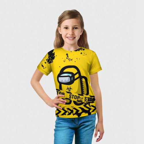 Детская футболка 3D AMONG US - BIOHAZARD Фото 01