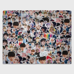 Плед BTS Sticker Bombing