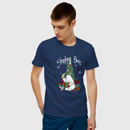 Мужская футболка хлопок Happy Bear Фото 01
