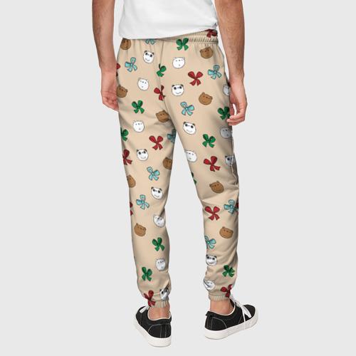 Мужские брюки 3D We Bare Bears Фото 01