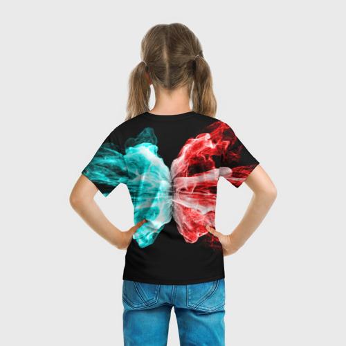 Детская футболка 3D AMONG US - БИТВА ОГНЕЙ Фото 01