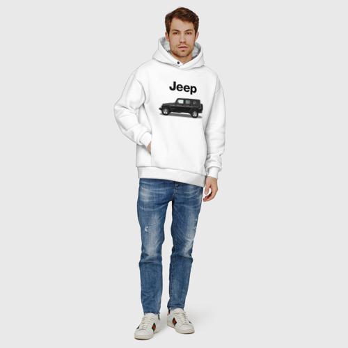 Мужское худи Oversize хлопок Jeep Wrangler Фото 01