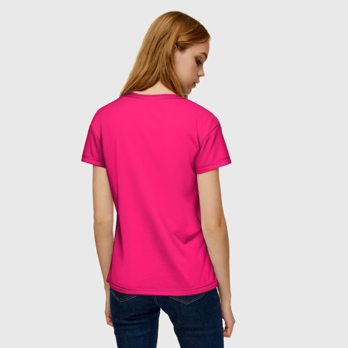 Женская футболка 3D Дьяволица Фото 01