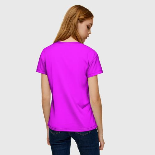 Женская футболка 3D Настроение Фото 01
