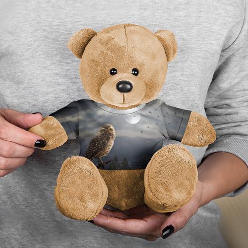 Игрушка Мишка в футболке 3D Сова Фото 01