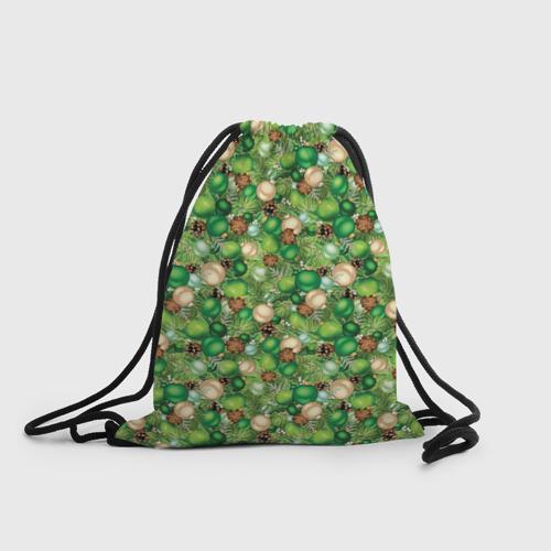Рюкзак-мешок 3D Новый Год Фото 01
