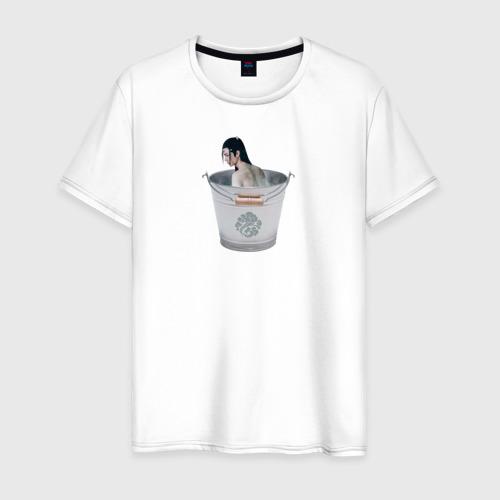 Мужская футболка хлопок Лань Чжань в ведерке Фото 01