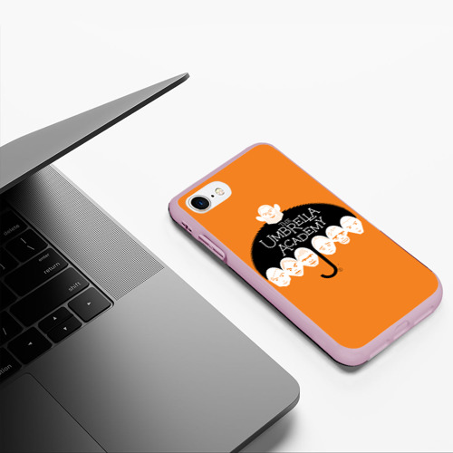 Чехол для iPhone 7/8 матовый Академия Амбрелла Фото 01