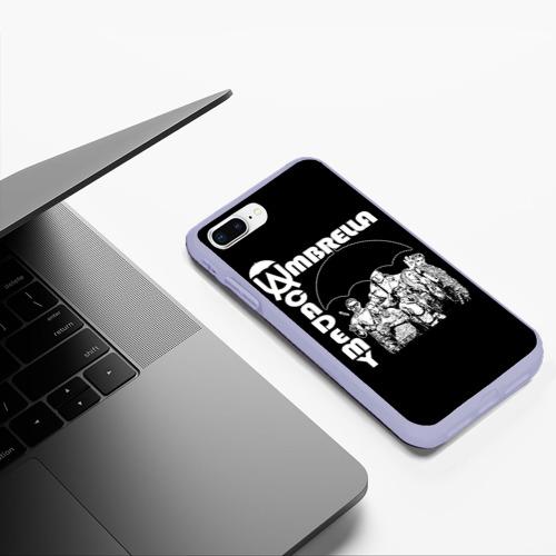 Чехол для iPhone 7Plus/8 Plus матовый umbrella academy Фото 01