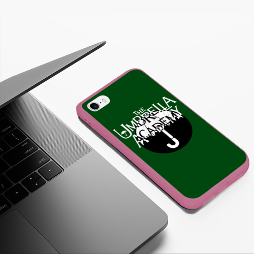 Чехол для iPhone 6Plus/6S Plus матовый umbrella academy Фото 01
