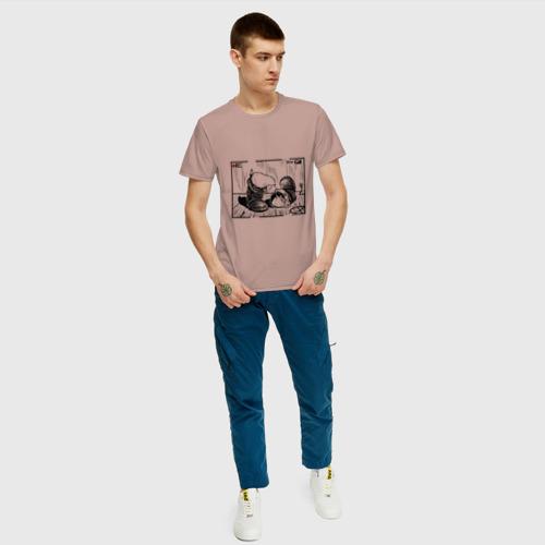 Мужская футболка хлопок Киви и сапоги Фото 01