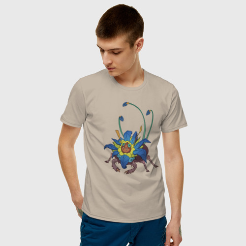 Мужская футболка хлопок Хищное насекомое 2 Фото 01