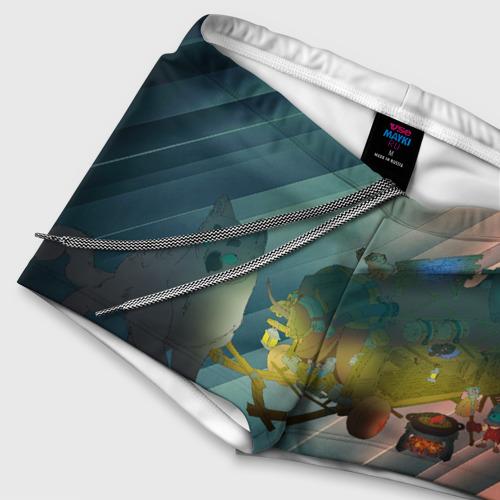 Мужские купальные плавки 3D Передвижной магазинчик Фото 01