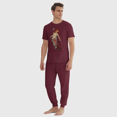 Мужская пижама хлопок Телец Фото 01