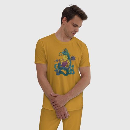 Мужская пижама хлопок Горгона Фото 01
