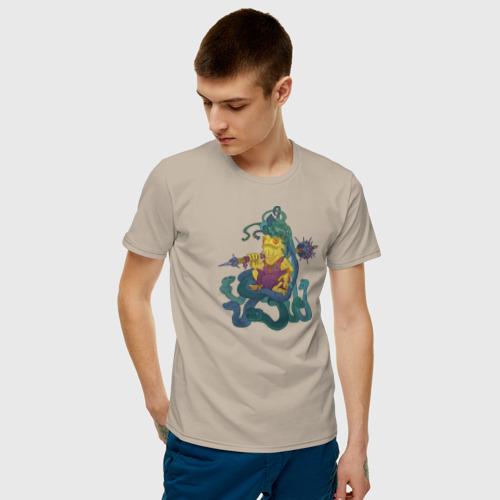 Мужская футболка хлопок Горгона Фото 01