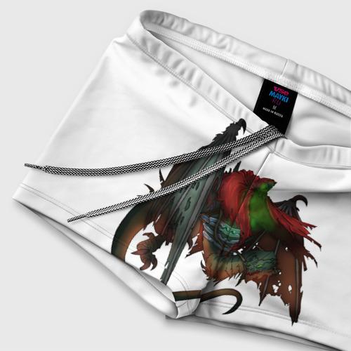 Мужские купальные плавки 3D Всадник на драконе  Фото 01