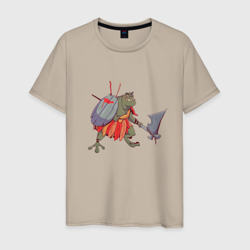 Мужская футболка хлопок Жаболюд Фото 01