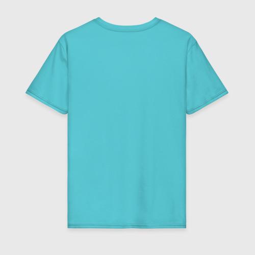 Мужская футболка хлопок графит и золото: олень Фото 01