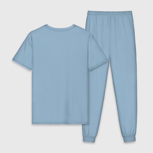 Мужская пижама хлопок Вязанный броненосец Фото 01