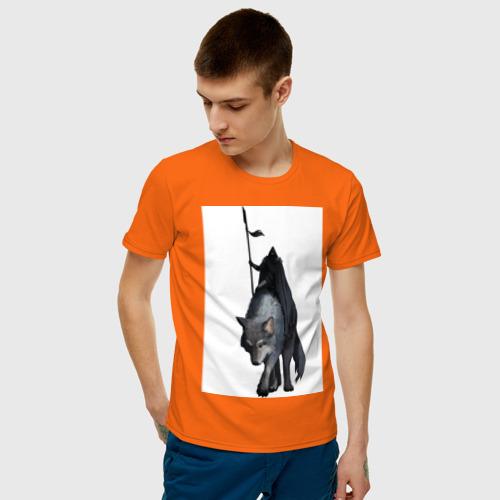 Мужская футболка хлопок Всадник Фото 01
