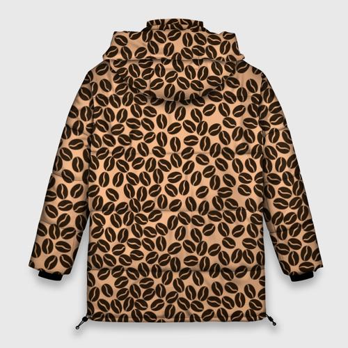 Женская зимняя куртка Oversize Кофейные Зёрна Фото 01
