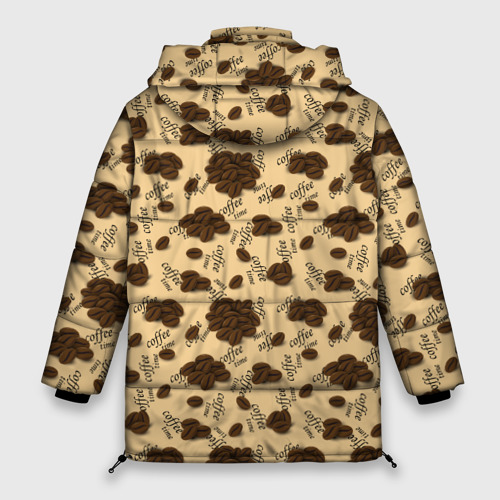 Женская зимняя куртка Oversize Coffee Фото 01