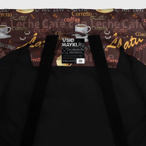 Женская зимняя куртка Oversize Кофе Фото 01