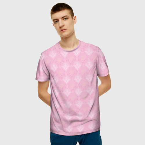 Мужская футболка 3D Любовь Фото 01
