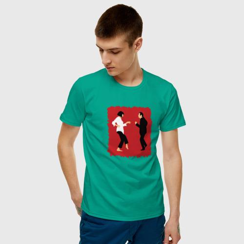 Мужская футболка хлопок dance mia vega Фото 01