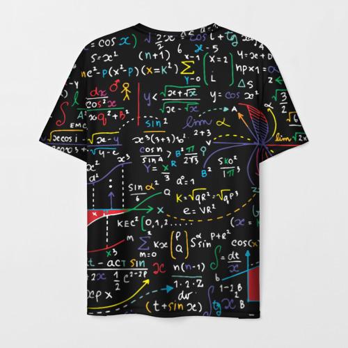 Мужская футболка 3D Математические формулы Фото 01