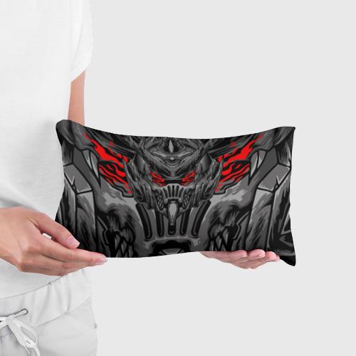 Подушка 3D антистресс Темный самурай Фото 01