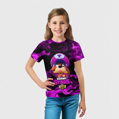 Детская футболка 3D ГЕНЕРАЛ ГАВС - Brawl Stars Фото 01