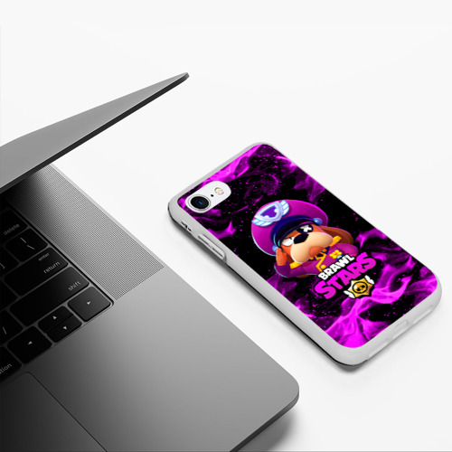 Чехол для iPhone 7/8 матовый ГЕНЕРАЛ ГАВС - Brawl Stars Фото 01