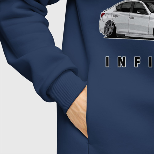 Мужское худи Oversize хлопок Infinfity Car Фото 01