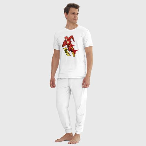Мужская пижама хлопок The Flash Фото 01