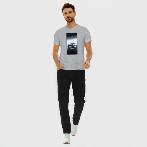 Мужская футболка хлопок Slim Кибертрак Фото 01