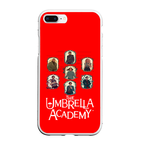 Чехол для iPhone 7Plus/8 Plus матовый академия амбрелла Фото 01