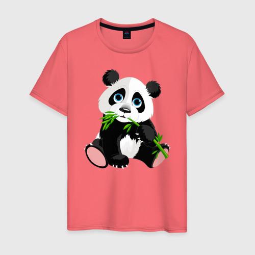 Мужская футболка хлопок Животные Фото 01