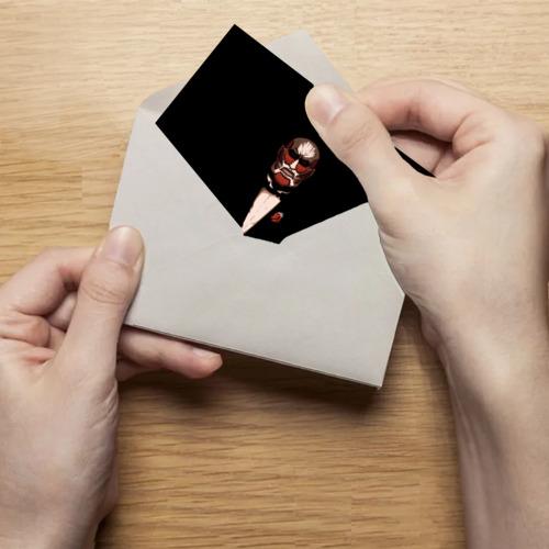 Поздравительная открытка Колоссальный Титан Фото 01